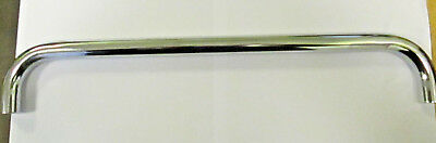 Classic car badge bar , chrome plated - brand new -no fittings  .