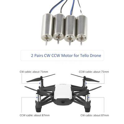 2 Pairs CW//CCW Motor Drone Motor for SJ R//C S20W RC Quadcopter M7L3