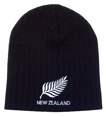 New Zealand Rugby Beanie Hat - Made in the UK