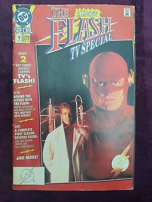 DC Comics The Flash All New TV Special 1-shot comic (1991)