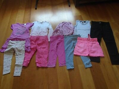 Bundle of girls clothes - age 7-8 years - 10 items - Next, Mini Boden, H&M