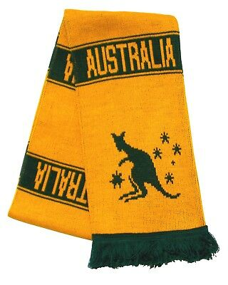 Australia Wallabies Rugby Scarf - Made in the UK