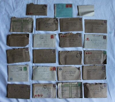Vintage photo ephemera letters paperwork x 42 wartime letters War Military