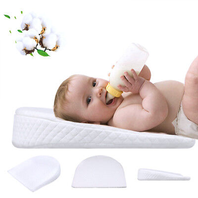Universal Waterproof Baby Sleep Memory Pillow Wedge Anti-Reflux Colic Congestion