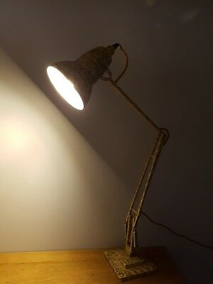 vintage Anglepoise 1227 desk lamp by Herbert Terry & Sons