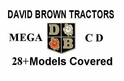 David Brown Tractor Manuals on CD. 28+ Models & MORE
