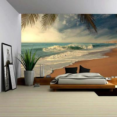 Wall26 - Tropical Beach - Canvas Art Wall Decor - 100x144 inches