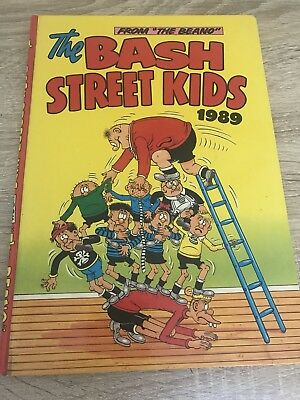 The Bash Street Kids 1989 Annual Very Good Condition
