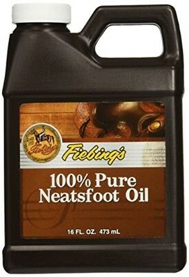 Fiebing's 100% Pure Neatsfoot Oil -16 FL.OZ. 473 ml