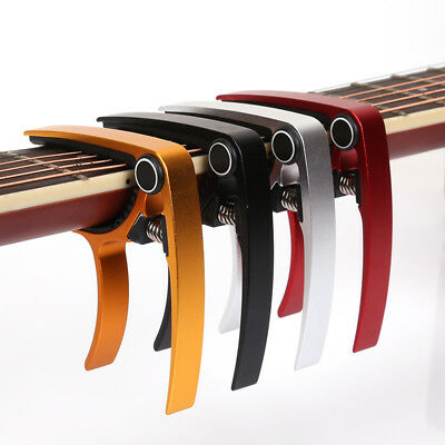 Advanced Guitar Capo Quick Change Tune Clamp Acoustic Electric Classic Guitar DL