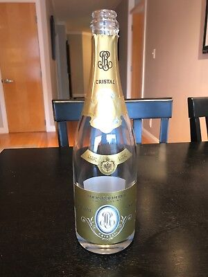 Louis Roederer Cristal Champagne 2009 750ml Empty Bottle. No Champagne Included!