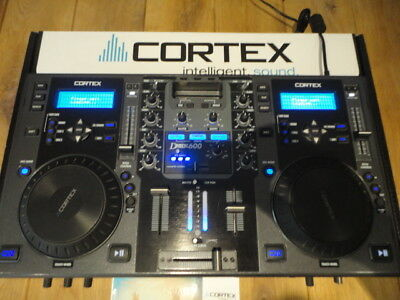 Cortex DMIX-600 Digital Music Station DJ Controller and Mixer With iPod Dock