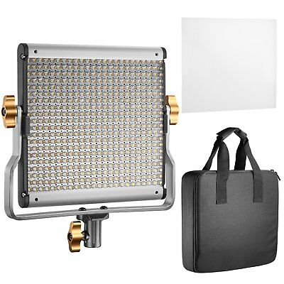 Neewer Dimmable Bi-color LED with U Bracket Professional Video Light for S..
