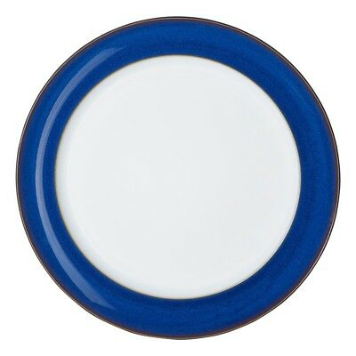 "Denby ""Imperial Blue"" dinner plates 12"" (30cm) x4"
