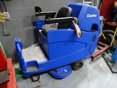 Lot#0813-1: Clarke Floor Scrubber - Needs Repairs - Won't Move Until Fixed