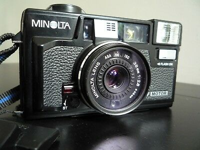 Minolta Hi-Matic AF-2M Point & Shoot Camera