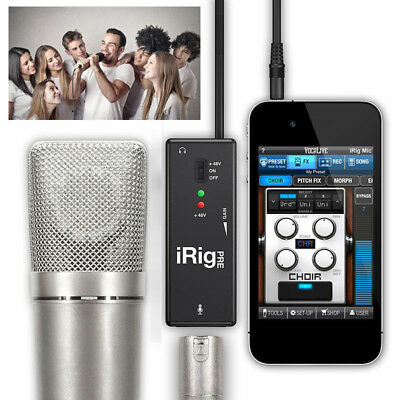 IK Multimedia iRig Pre Microphone Amplifier Kits for iPhone iPad Android Devices