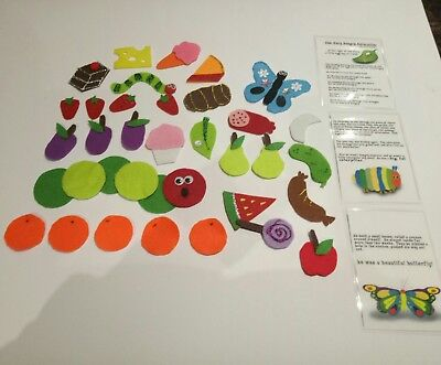 Felt story- The hungry caterpillar -Teacher resource