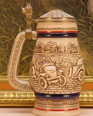 Vintage Avon Handcrafted Beer Stein 1979 Car Classics Made in Brazil