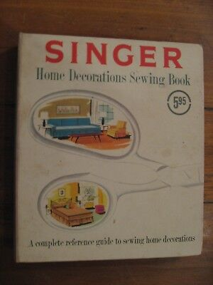 1961 Singer Sewing Book Will Leave You in Stitches! Home Decorations Sewing Book