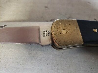 Buck 110 Hunter Folding Knife Three 3 Dot Usa 1980-1981