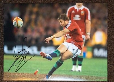 Leigh Halfpenny - Signed Hugh 16X12 Photo - British & Irish Lions - Wales Rugby