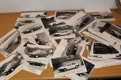 Nissan Large Collection (Approx 60) Press Photographs Various Models