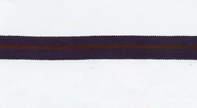 """0ne 6"""" pc of ORIGINAL MINIATURE Medal Ribbon for the OBE-MBE MILITARY 1st type"""
