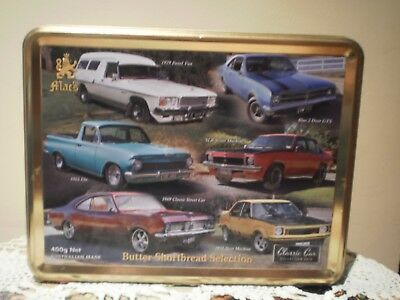 """Mac's Butter Shortbread Selection Biscuit Tin - """" Classic Car Collection 2015"""""""