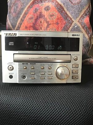 Teac CR-H100 CD Tuner Amplifier with dedicated Teac speakers great sound
