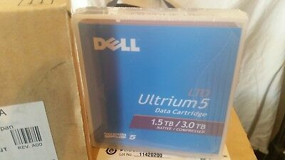 5x LTO Ultrium5 Data Cardridge (DELL)  Native 1.5TB Compressed