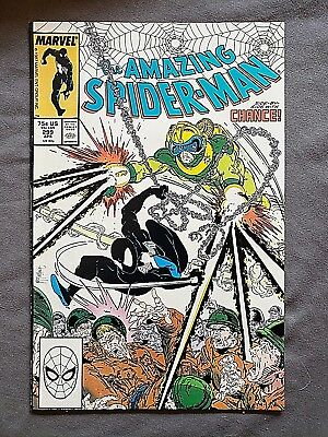 The Amazing Spider-Man #298 (Autographed by Todd McFarlane) (1st Cameo Venom)