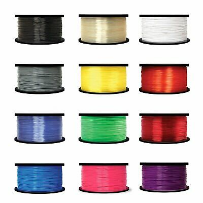 3D Printer Filament 1.75mm PLA for Print Pen RepRap MarkerBot 1kg/2.2lb 335m