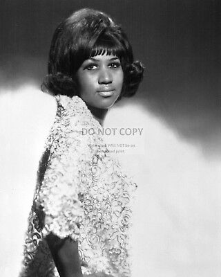 "Aretha Franklin ""the Queen Of Soul"" - 8X10 Publicity Photo (Rt107)"