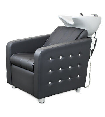 Wash Unit with electric footrest Hairdressing furniture  chair Beauty Salon