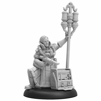 Warmachine Crucible Guard Doctor Adolpheus Morely Command Attachment PIP 37006