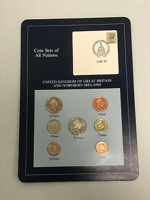 Coins of All Nations United Kingdom of Great Britain and Northern Ireland Sheet