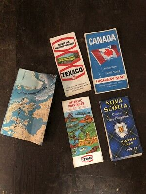 Vintage Canadian Road Maps
