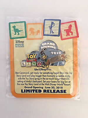 Toy Story Land Commemorative Walt Disney World Resort Limited Release Pin