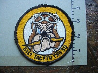 Usaf 61St Tac Ftr Tng Sq Patch - Must See