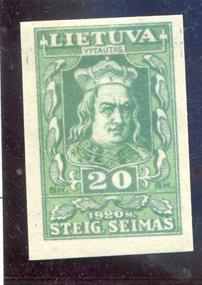 Lithuania OLD stamp MNH,imperf VF