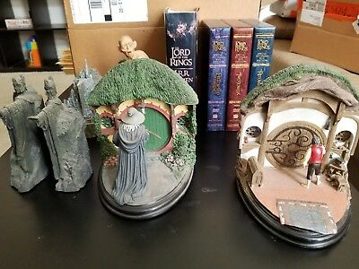 LOTR Lord Of The Rings Lot Bookends, Book, DVDs
