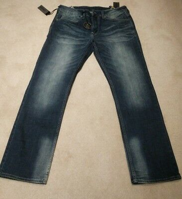 Buffalo David Bitton Jeans - Six-x - Slim Straight Stretch - 33/32