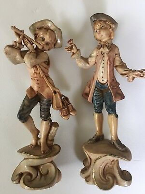 Antique Polymer Figurines Made in Italy