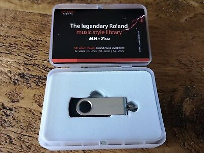 ROLAND BK-7M MUSIC style library - Official USB Drive