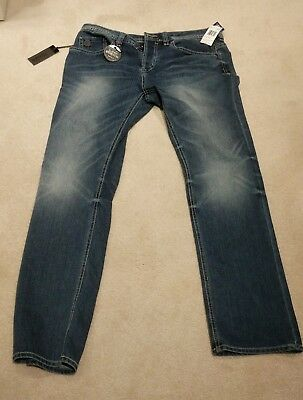 Buffalo David Bitton Jeans - Evan-X - Slim Stretch - 33/32