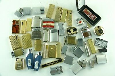 Lot Of 35 Vintage Lighters For Part Or Restore.