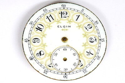 Elgin U.S.A pocket watch movement for parts - 125553