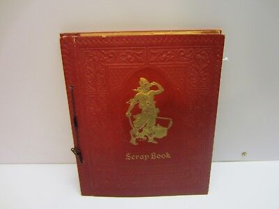 Vtg Old Scrapbook Filled with Pressed Wild Flowers Plants Seeds