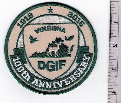 Virginia Game Commission 100th Anniversary